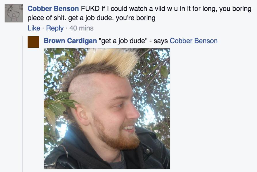 Brown Cardigan: Post #46727